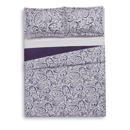 Lanclos+Paisley+Watercolor+Comforter+Set
